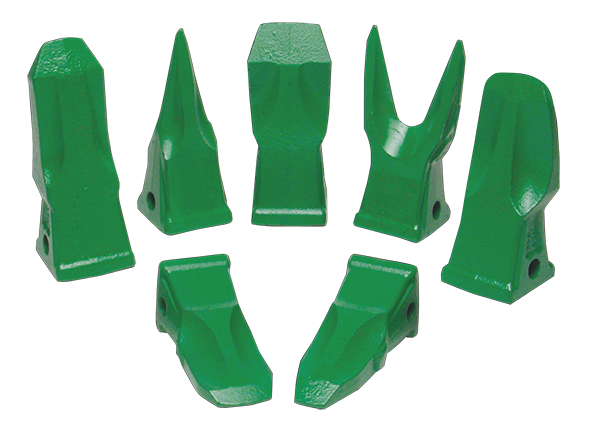 Esco Cat type teeth and adapters